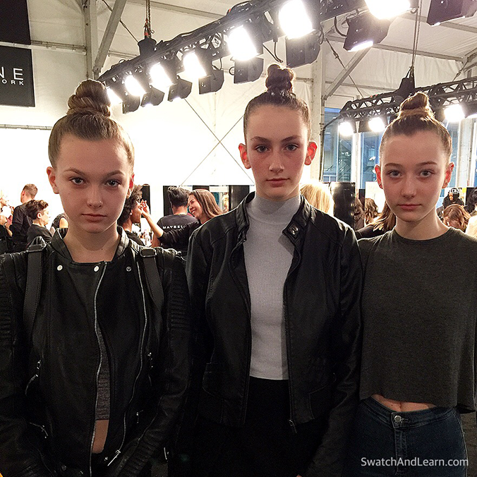 Toronto Fashion Week 2016 Top Knot Hair
