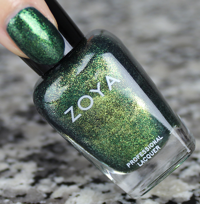 Zoya Logan Review Swatches