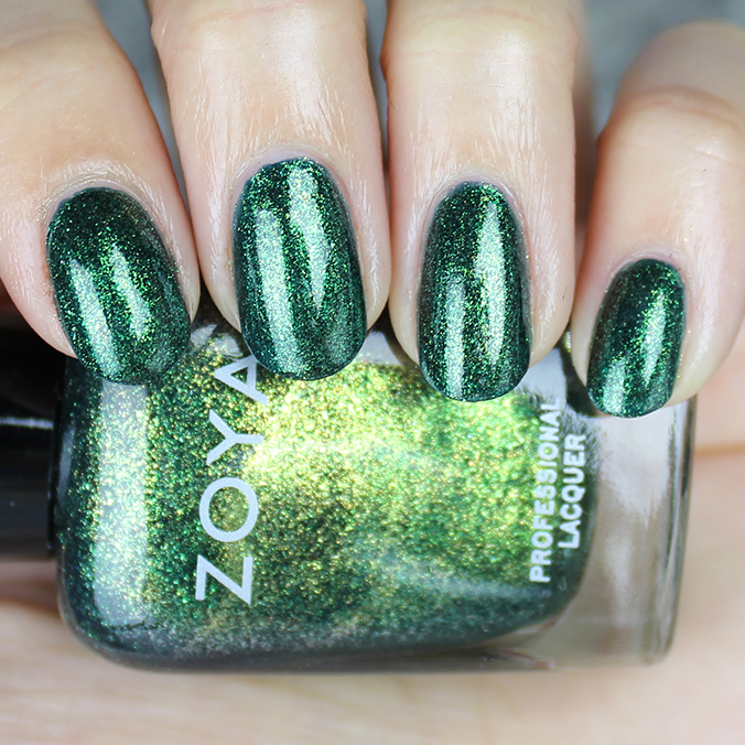 Zoya Logan Swatch