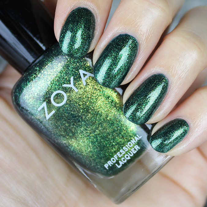 Zoya Logan Swatches Review