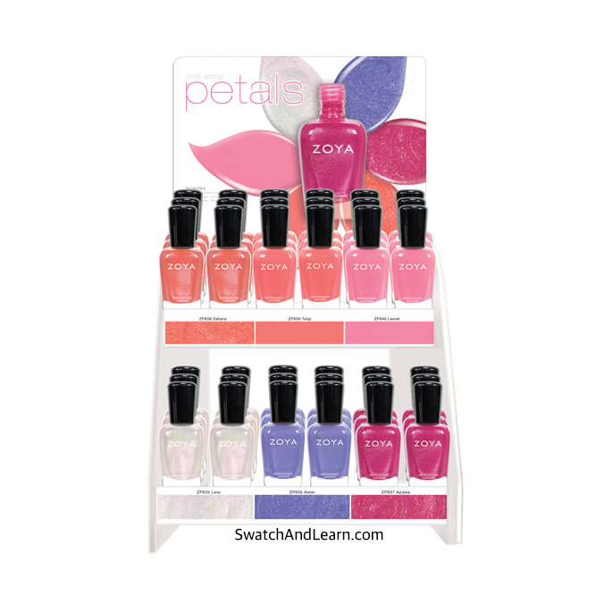 Zoya Petals Collection for Spring 2016