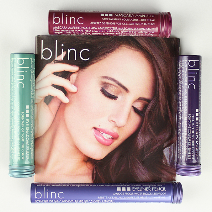 blinc Mascara Eyeshadow Primer, Eyebrow Mousse Eyeliner