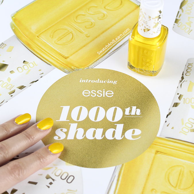 Essie 1000th Shade Aim to Misbehave