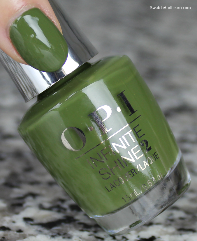 OPI Infinite Shine Olive for Green Review