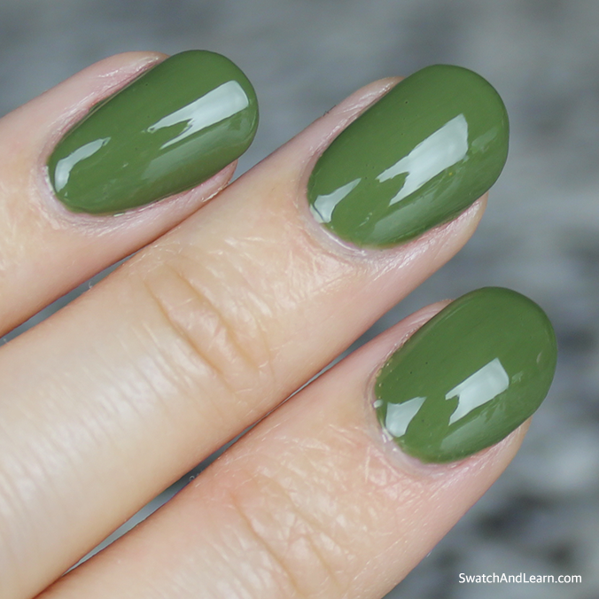 OPI Infinite Shine Olive for Green Swatch