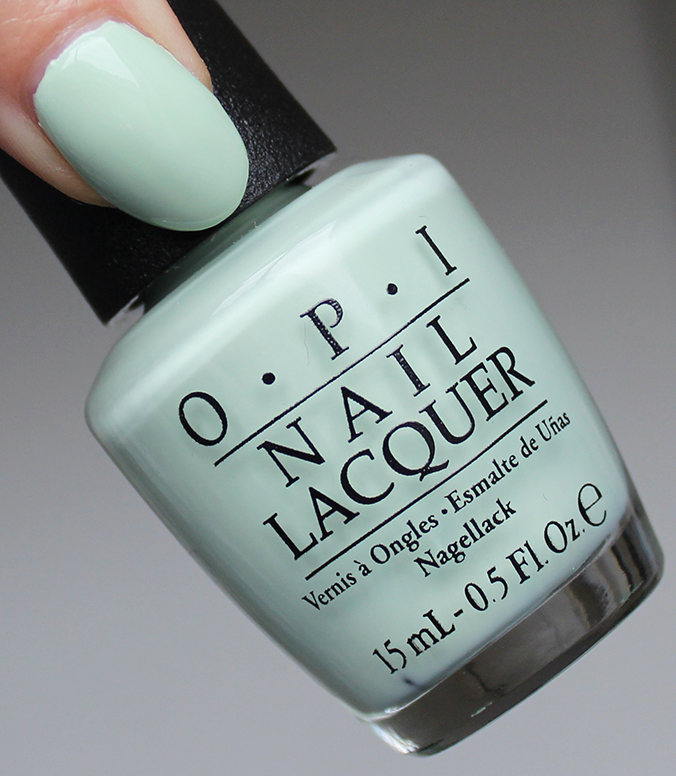 OPI This Cost Me a Mint Review SoftShades 2016