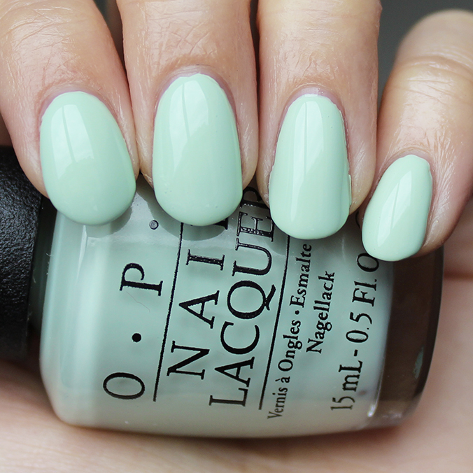 OPI This Cost Me a Mint Swatch OPI SoftShades 2016 Swatches