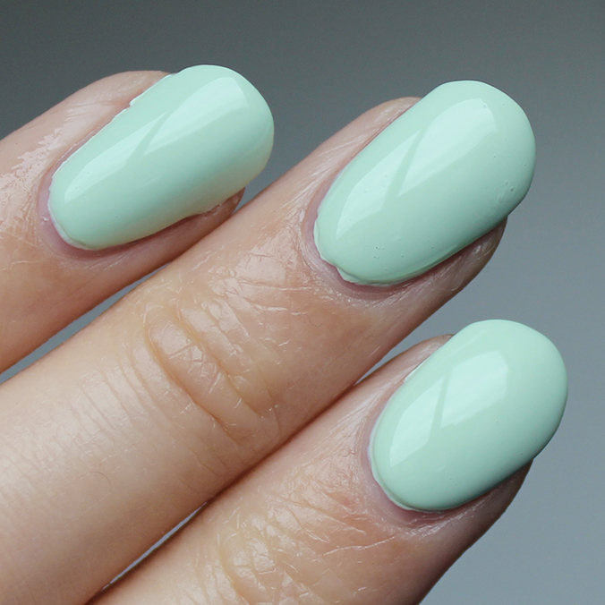 OPI This Cost Me a Mint Swatch Swatches