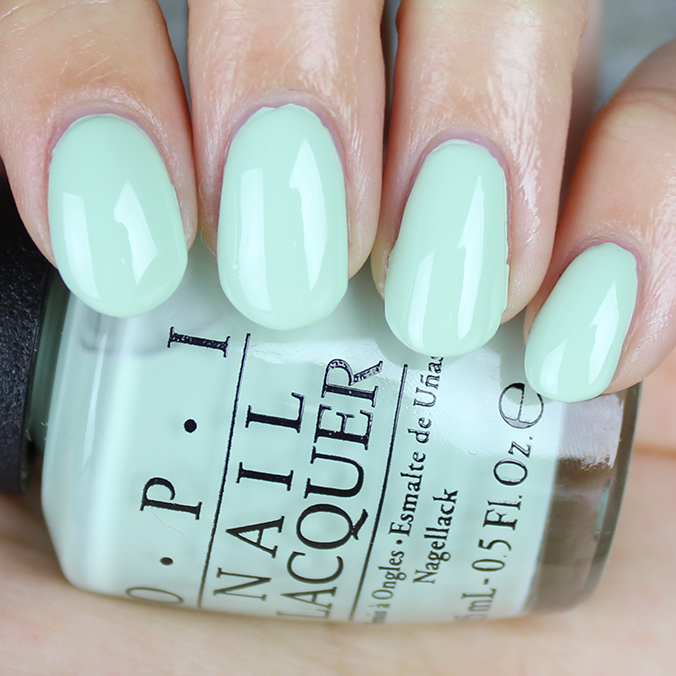 OPI This Cost Me a Mint Swatch