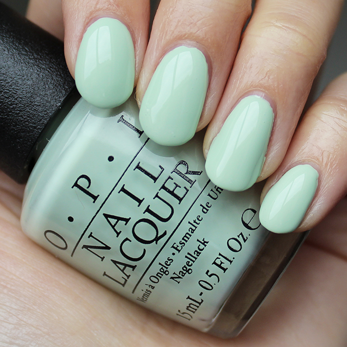 OPI This Cost Me a Mint Swatches Swatch
