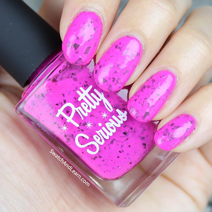 Pretty Serious Princess Plutonium Swatch Pretty Serious Post Apocalyptic Princess Collection