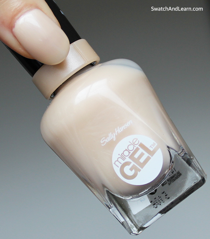 Sally Hansen Miracle Gel Cream of the Crop Swatches & Review