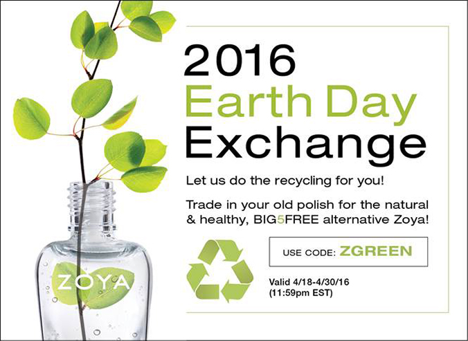 Zoya 2016 Earth Day Exchange