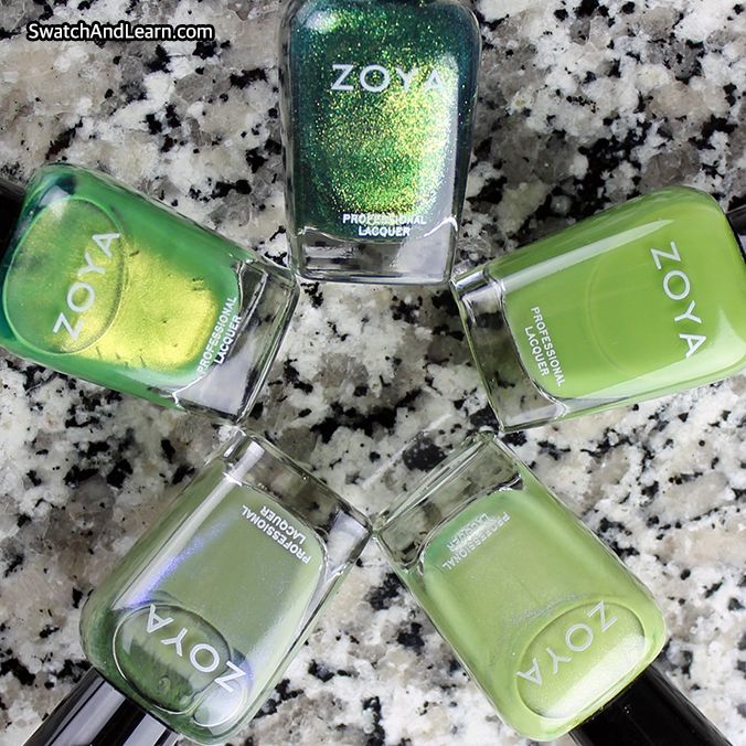 Zoya Earth Day 2016 Exchange