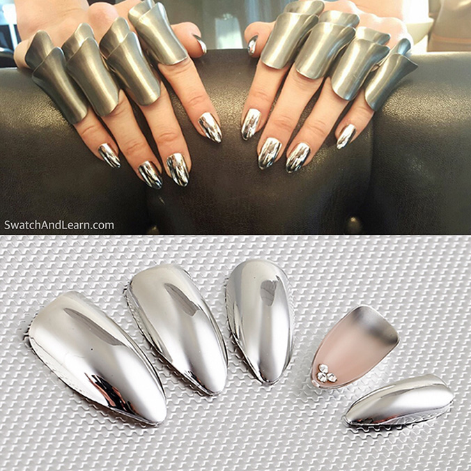 Chrome Nails KISS Nails Mar y Soul Mani