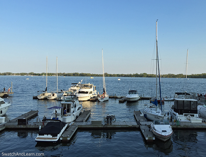 Harbourfront Toronto Boats
