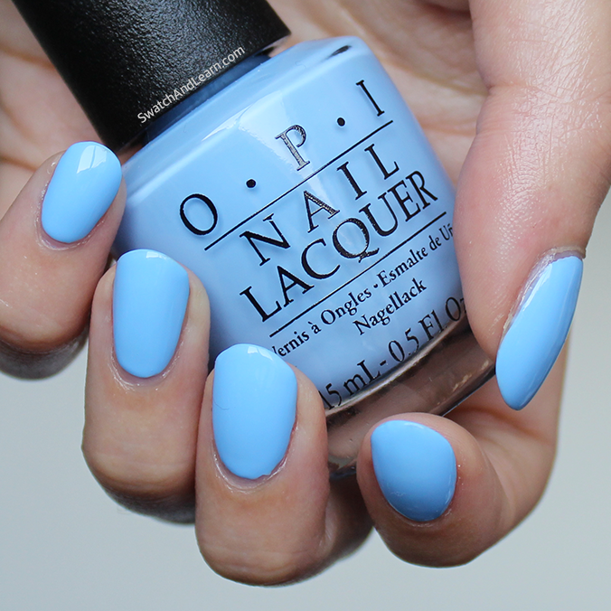 OPI Alice Through the Looking Glass Collection Swatches OPI The I's Have It Swatch