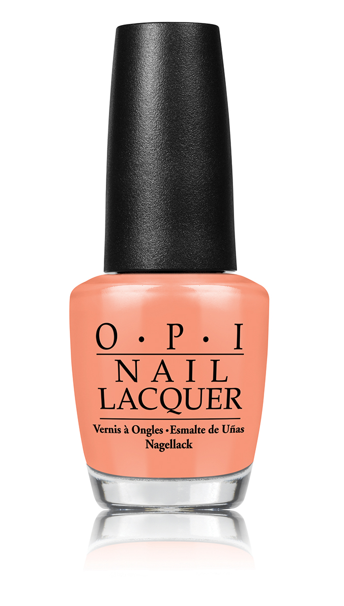 OPI I'm Getting A Tangerine Retro Summer 2016