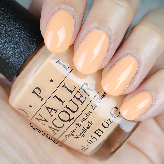 OPI I'm Getting a Tan-gerine Swatch OPI Retro Summer 2016 Collection Swatches