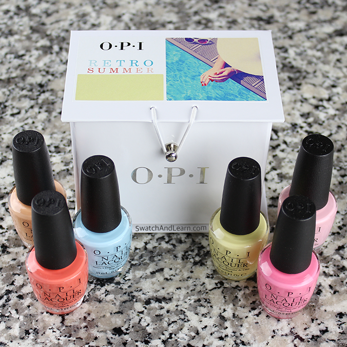 OPI Retro Summer Collection for 2016