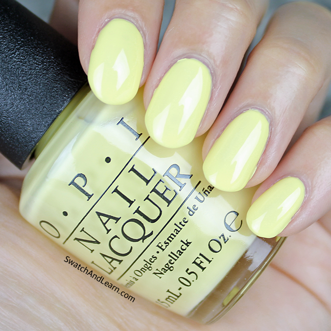 OPI Towel Me About It Swatch OPI Retro Summer 2016 Collection Swatches
