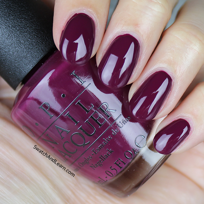 OPI What's the Hatter with You Swatch OPI Alice through the Looking Glass Collection Swatches