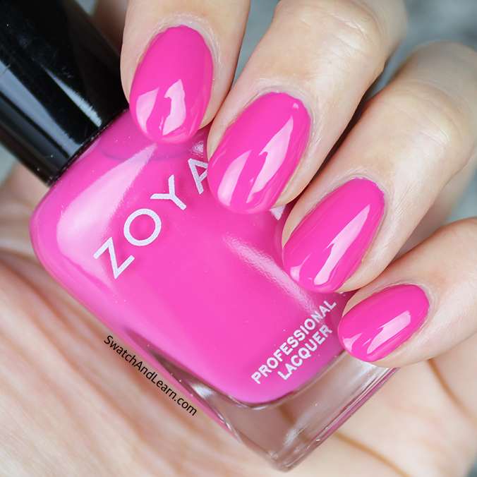 Zoya Brynn Swatch Zoya Sunsets Collection Swatches