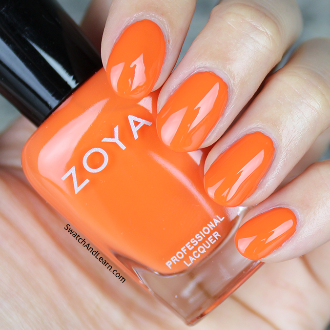 Zoya Cam Swatch Zoya Sunsets Collection Swatches