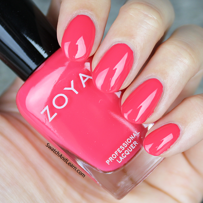 Zoya Dixie Swatch Zoya Sunsets Collection Swatches