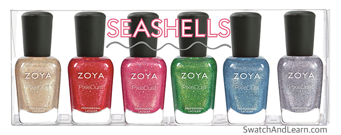 Zoya Seashells Collection 2016 Summer