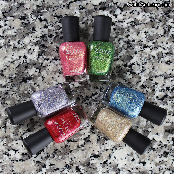 Zoya Seashells Collection 2016