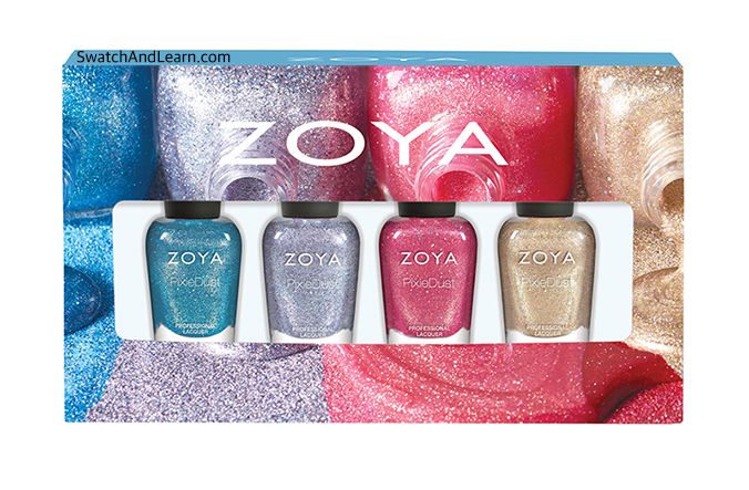 Zoya Seashells Collection Gift Set