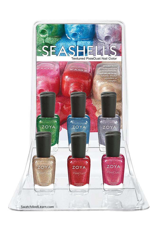 Zoya Seashells Collection Summer 2016