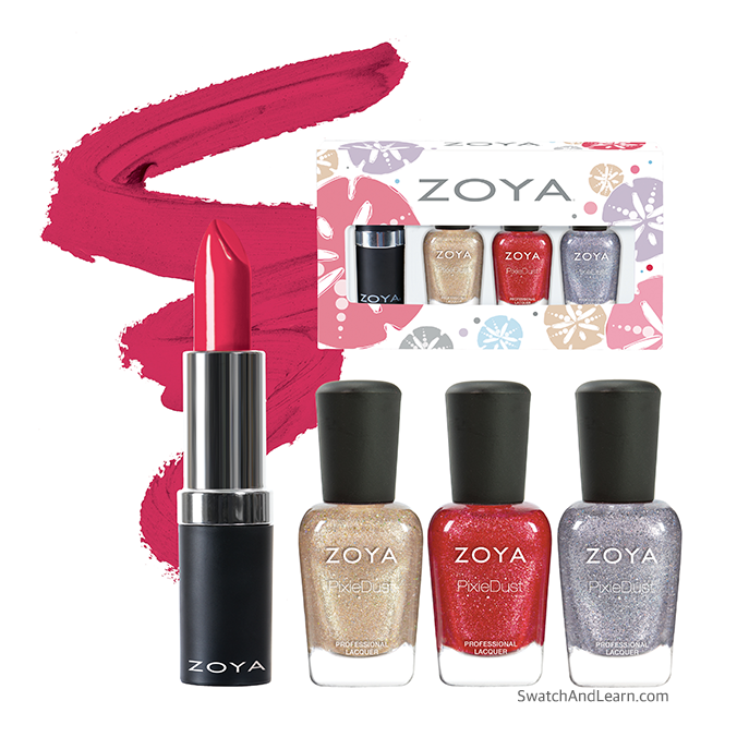 Zoya Seashells Quad Gift Set