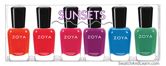 Zoya Sunsets Collection 2016 Summer