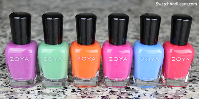 Zoya Sunsets Collection 2016