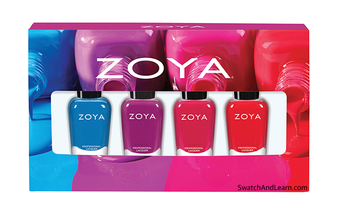 Zoya Sunsets Fun Size Sampler