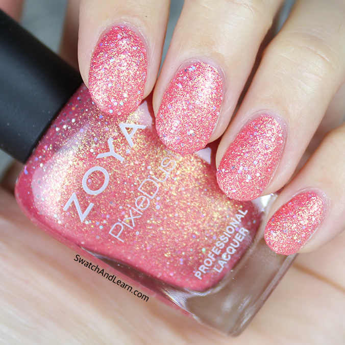 Zoya Seashells Collection Swatches Swatch And Learn