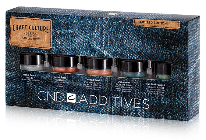 CND Craft Culture Collection Additives Pigments