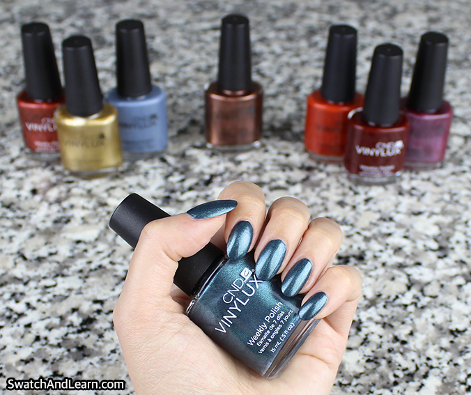 CND Craft Culture Collection Swatch Swatches