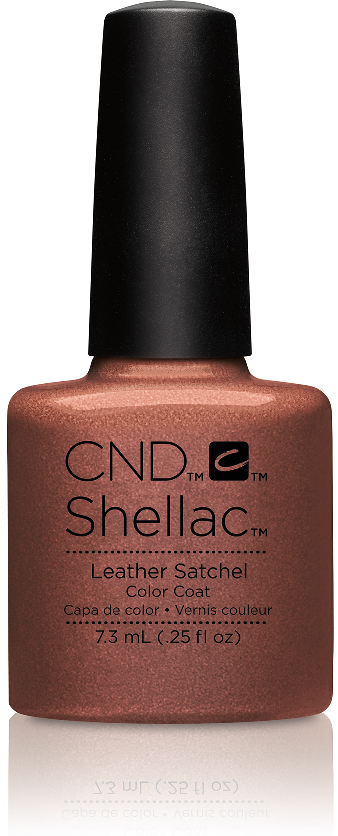 CND Shellac Craft Culture Collection Leather Satchel