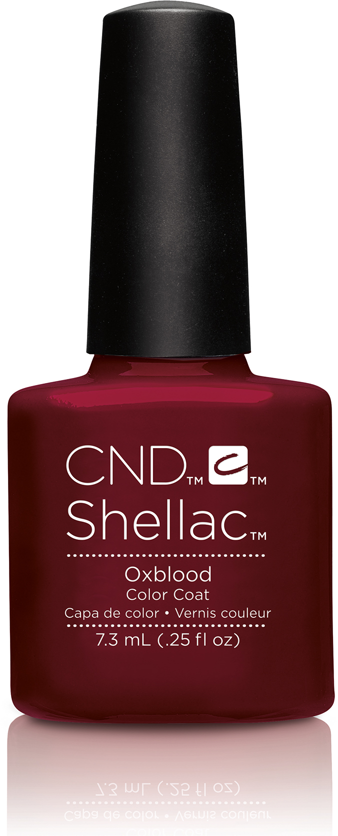 CND Shellac Craft Culture Collection Oxblood