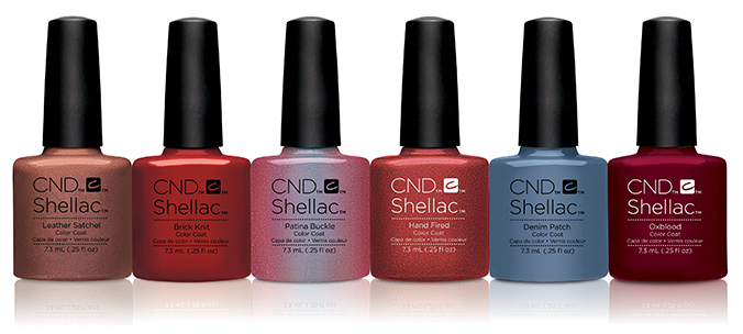 CND Shellac Craft Culture Collection