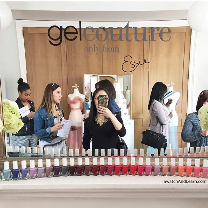 Essie Gel Couture Collection Swatch And Learn