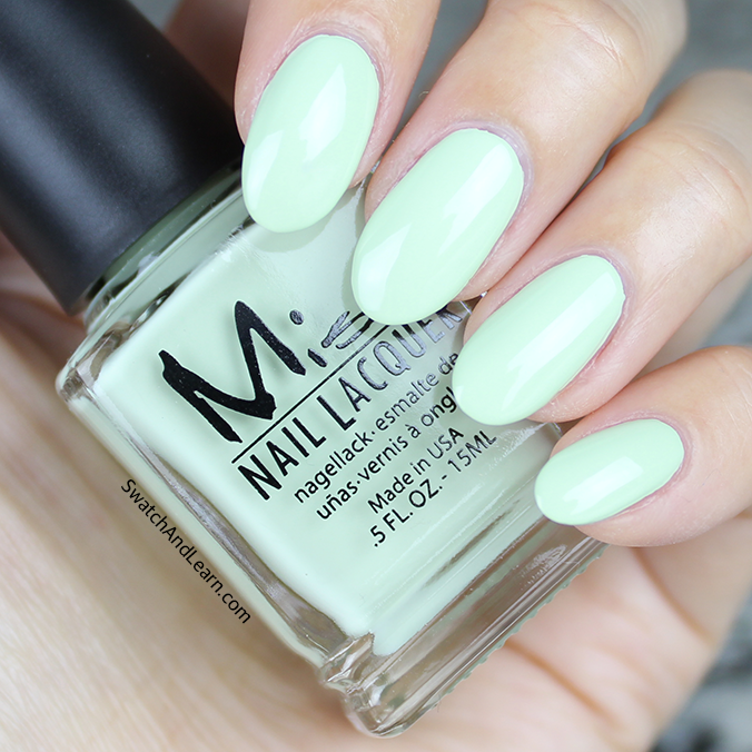 Misa Aloe It's Me Swatch Pastel Me All About It Collection Swatches