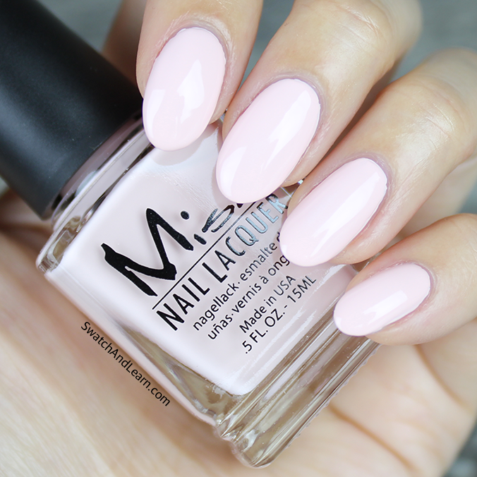 Misa Everything's Peachy Swatch Pastel Me All About It Collection Swatches