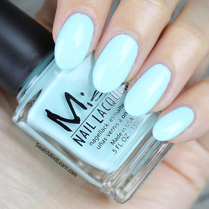 Misa Mint to Be Swatch Pastel Me All About It Collection Swatches
