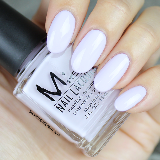 Misa Orchid Bloom Swatch Pastel Me All About It Collection Swatches