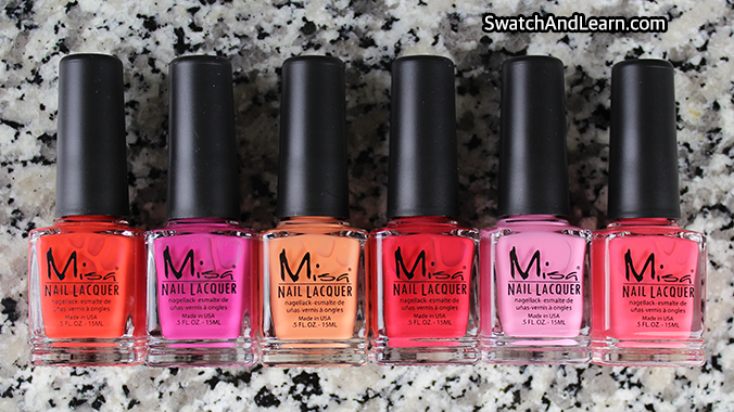 Misa Queens of Summer Collection Review