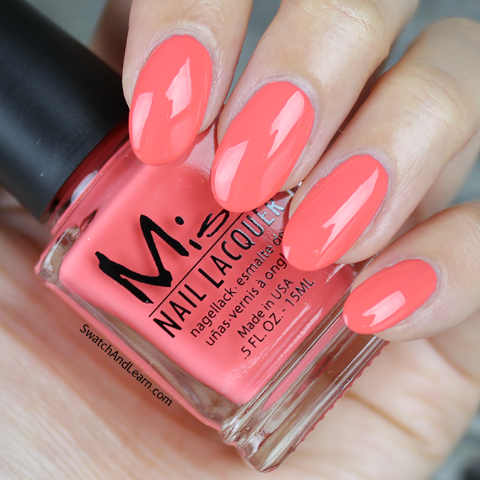 Misa Tiger Lily Swatch Pastel Me All About It Collection Swatches